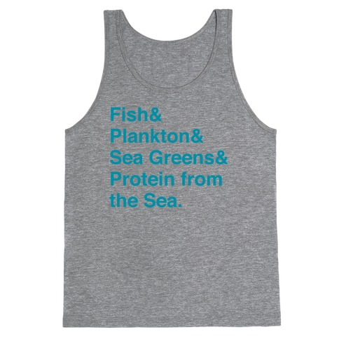 Protein From The Sea Tank Top