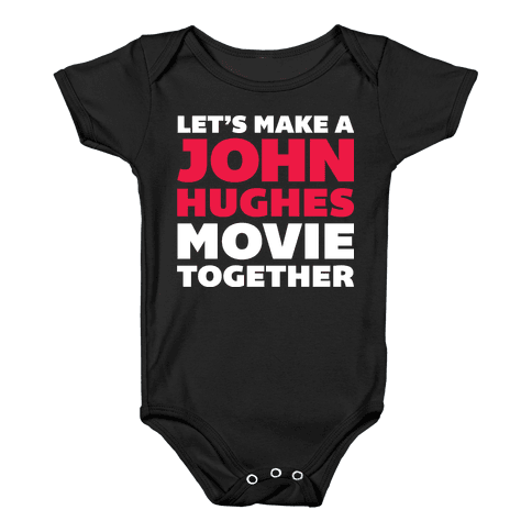 John Hughes Movie  Baby Onesy
