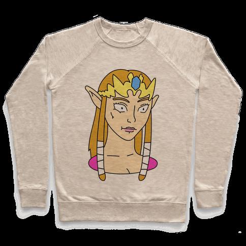 Zelda Face Parody Pullover