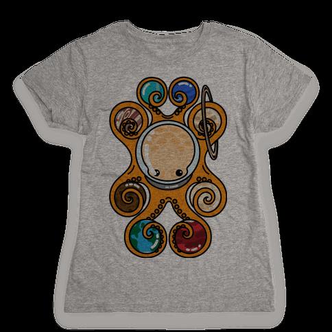 Astronoctopus Womens T-Shirt