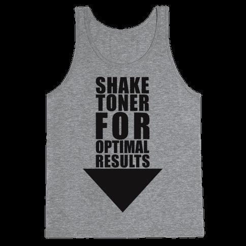 Shake Toner For Optimal Result Tank Top
