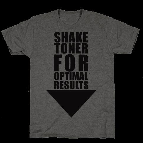 Shake Toner For Optimal Result