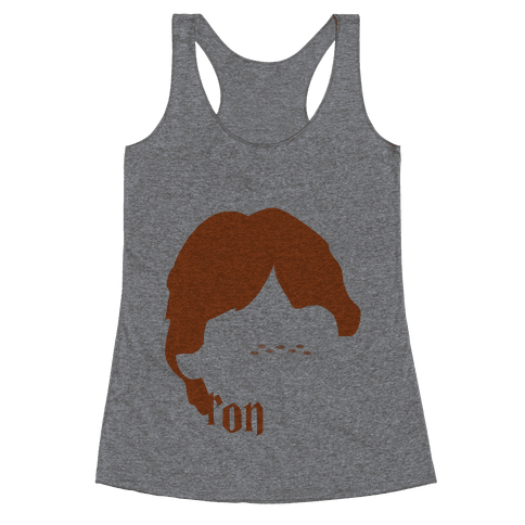 Trio Tanks (Ron) Racerback Tank Top