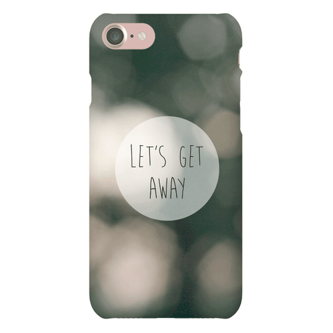 Let's Get Away Case Phone Case