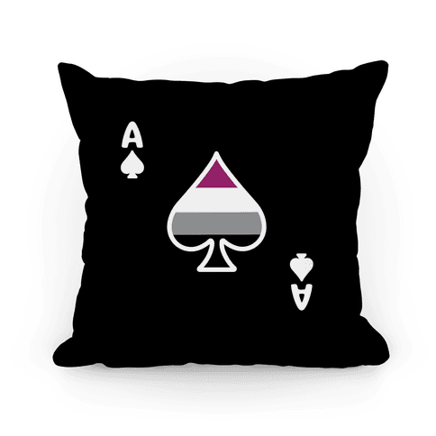 Asexual Card Pillow