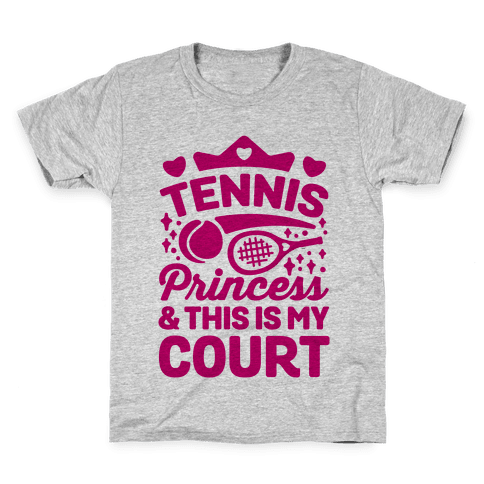 Tennis Princess Kids T-Shirt