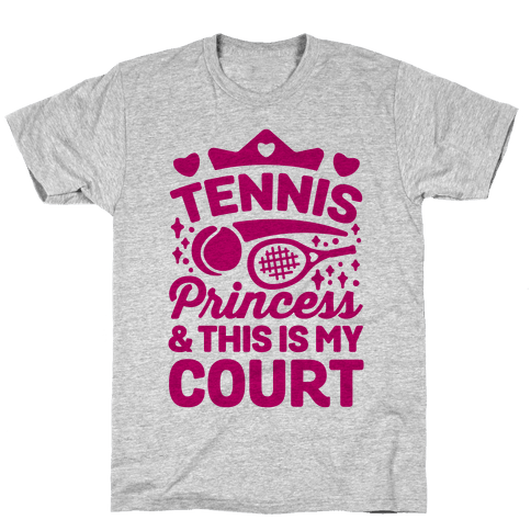 Tennis Princess Mens T-Shirt
