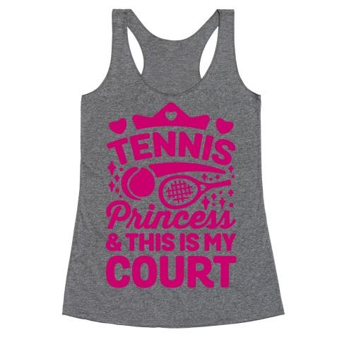 Tennis Princess Racerback Tank Top