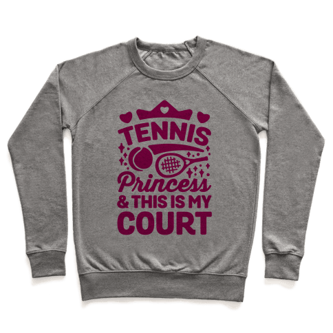 Tennis Princess Pullover