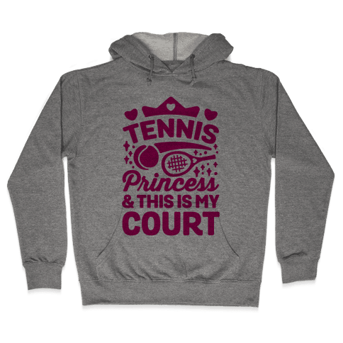 Tennis Princess Hooded Sweatshirt