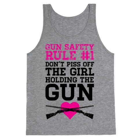 Gun Safety Rule #1 Tank Top