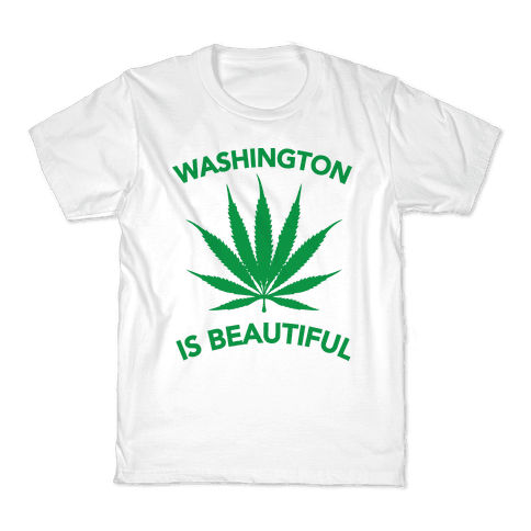 WASHINGTON IS BEAUTIFUL Kids T-Shirt