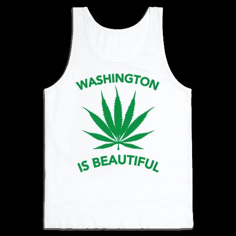 WASHINGTON IS BEAUTIFUL Tank Top