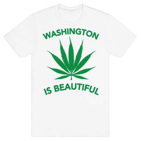 WASHINGTON IS BEAUTIFUL Mens T-Shirt