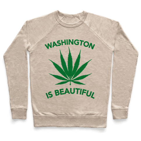 WASHINGTON IS BEAUTIFUL Pullover