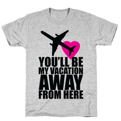 Vacation Romance Mens T-Shirt