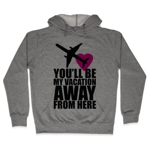 Vacation Romance Hooded Sweatshirt