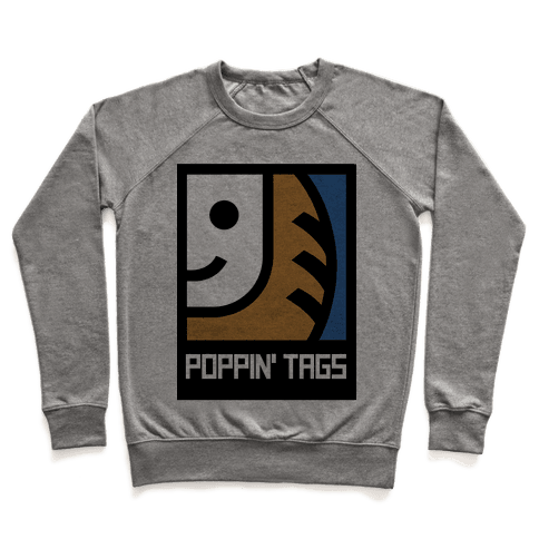 Poppin' Tags Pullover