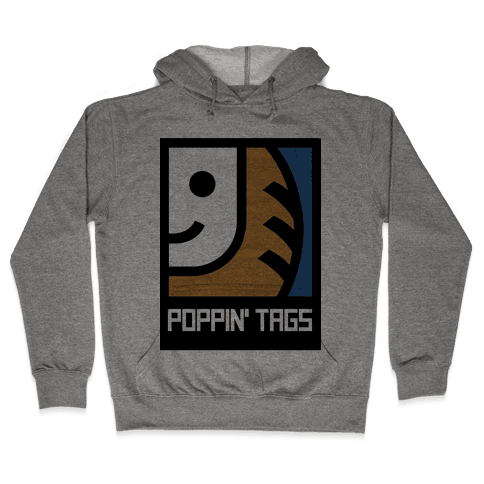 Poppin' Tags Hooded Sweatshirt