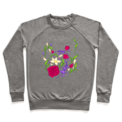 Floral Teapot Pullover