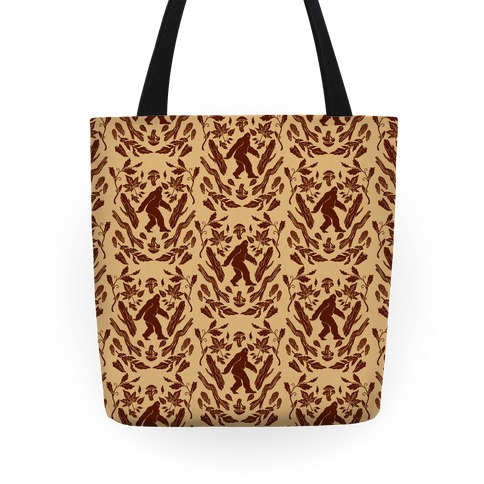 Sasquatch Sighting Pattern Tote
