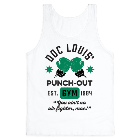 Doc Louis' Punch Out Gym Tank Top