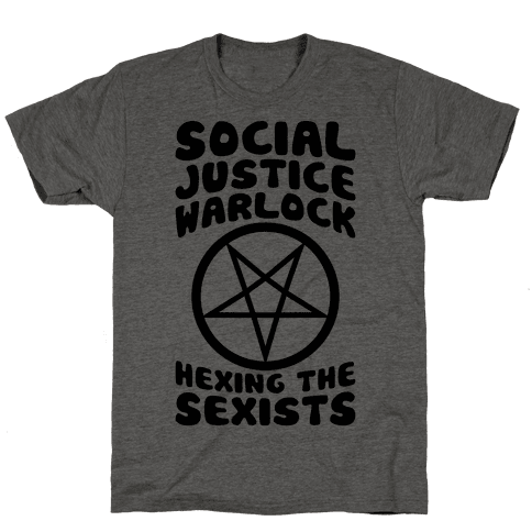 Social Justice Warlock Mens T-Shirt