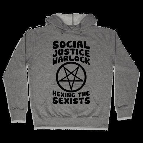 Social Justice Warlock Hooded Sweatshirt
