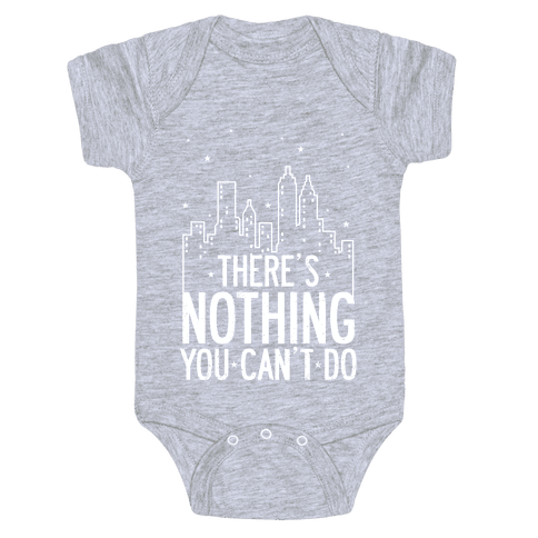 NYC - There's Nothing You Can't Do Baby Onesy