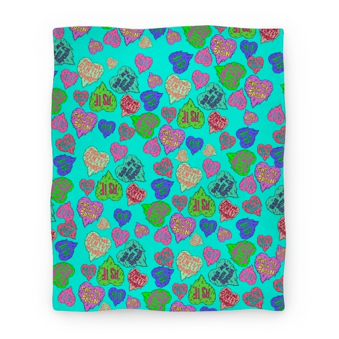 Gross Hearts Blanket