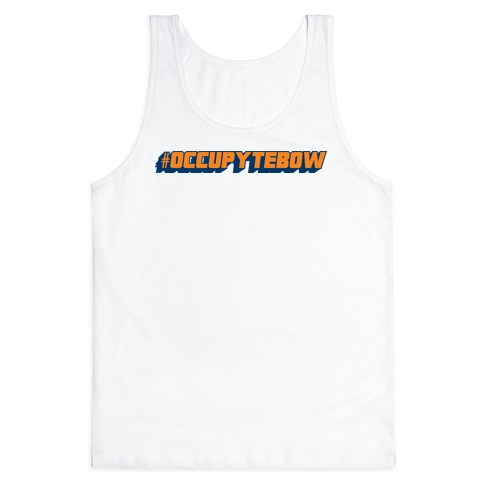 Occupy Tebow Tank Top