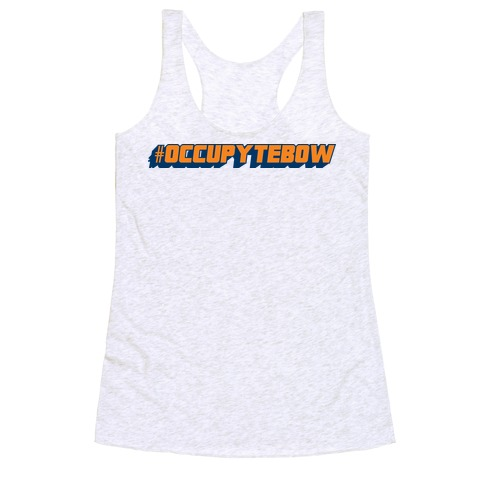 Occupy Tebow Racerback Tank Top