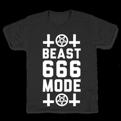 Sign of the Beast Mode Kids T-Shirt