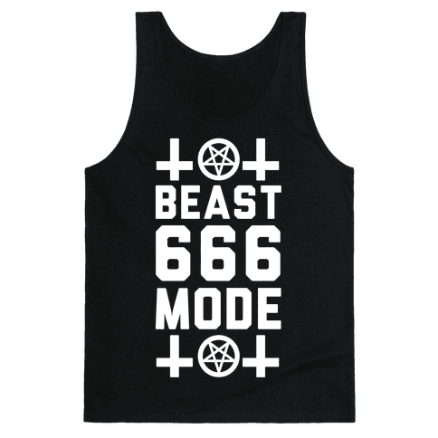 Sign of the Beast Mode Tank Top