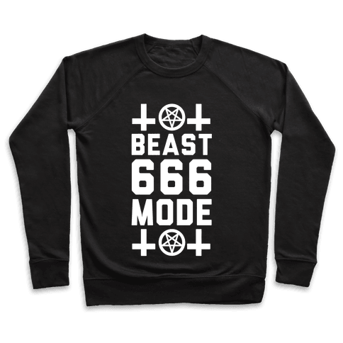 Sign of the Beast Mode Pullover