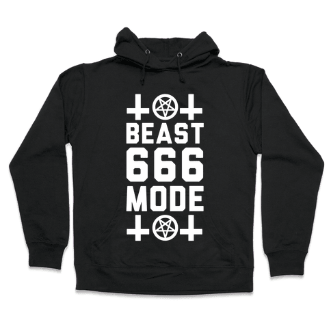 Sign of the Beast Mode Hooded Sweatshirt