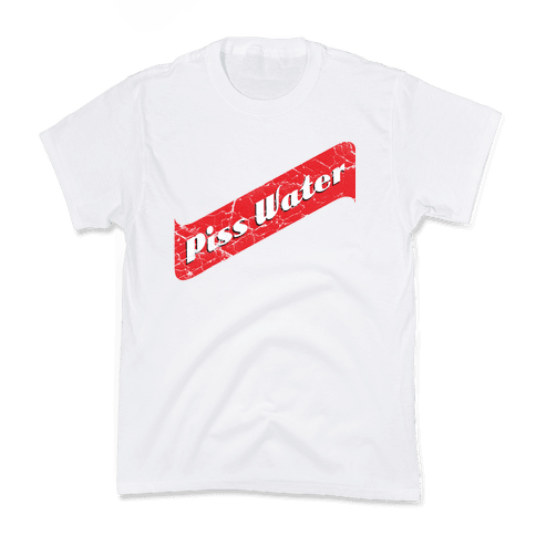 Pisswater (Red Stripe) Bad Beer Party Kids T-Shirt