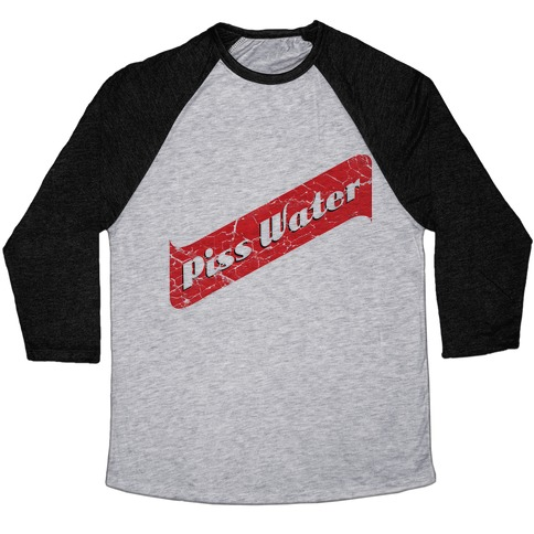 4333435d00 Pisswater (Red Stripe) Bad Beer Party Baseball Tee | LookHUMAN