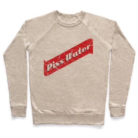 3035903118 Pisswater (Red Stripe) Bad Beer Party Crewneck Sweatshirt | LookHUMAN