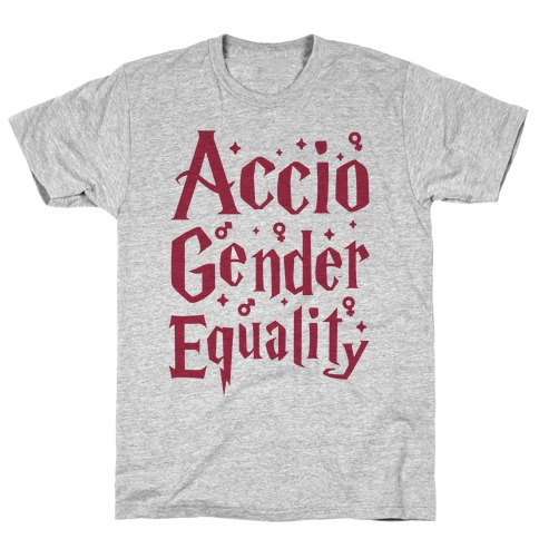 Accio Gender Equality Mens T-Shirt