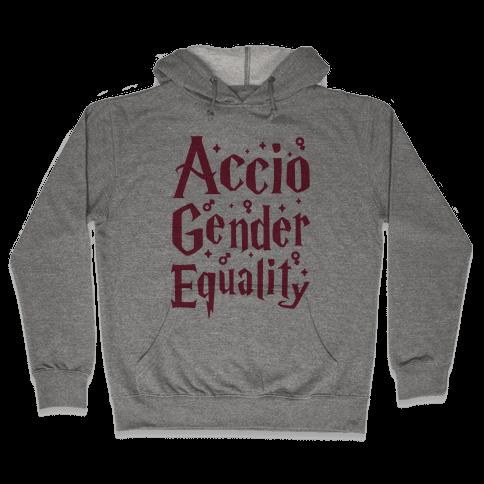 Accio Gender Equality Hooded Sweatshirt