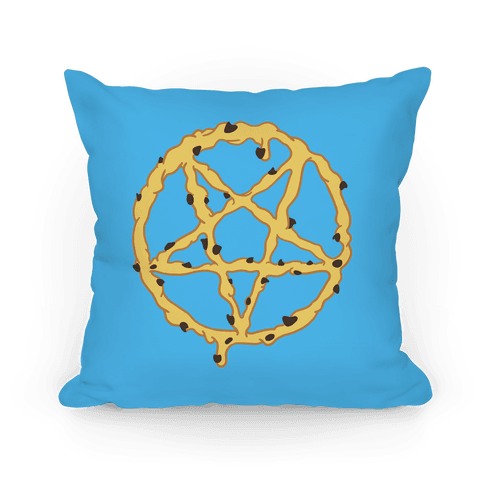 Cookie Dough Pentagram Pillow