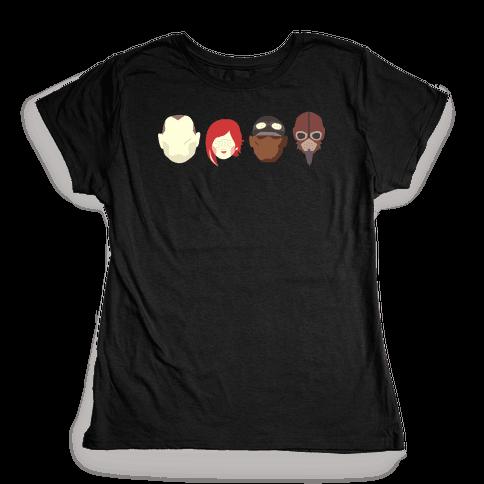 Vault Hunters Womens T-Shirt