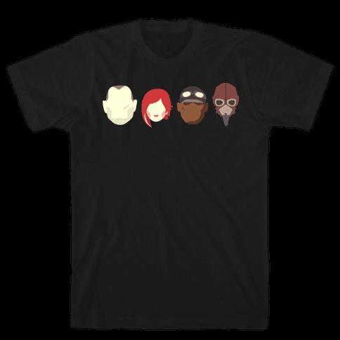 Vault Hunters Mens T-Shirt