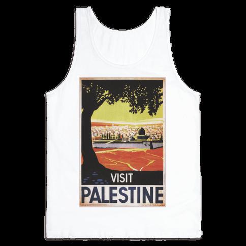Visit Palestine Tank Top