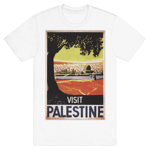 Visit Palestine Mens T-Shirt
