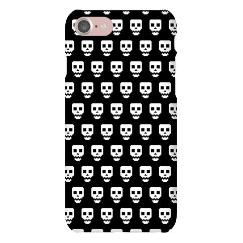 Spoopy Pixel Skull