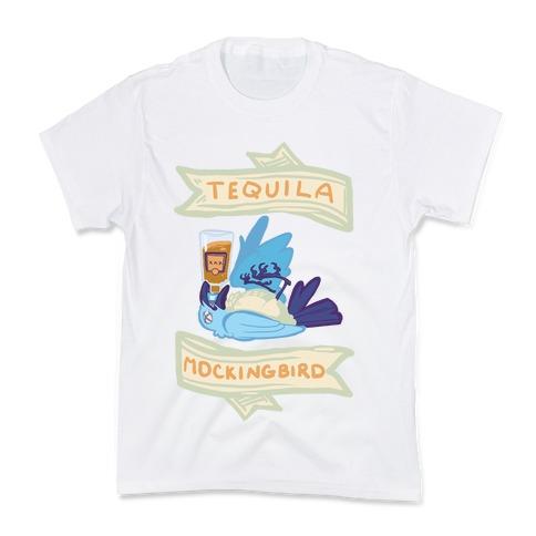 Tequila Mockingbird Kids T-Shirt