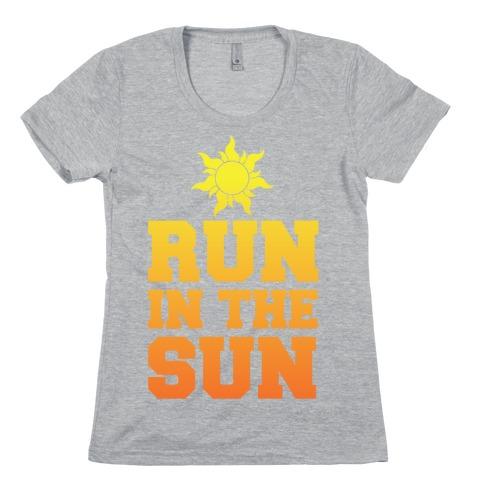 Run In The Sun Womens T-Shirt