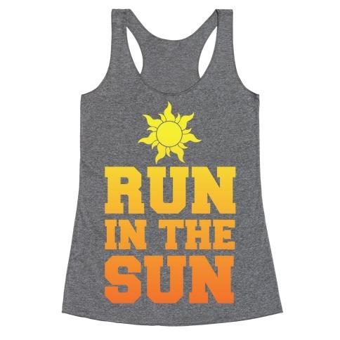 Run In The Sun Racerback Tank Top